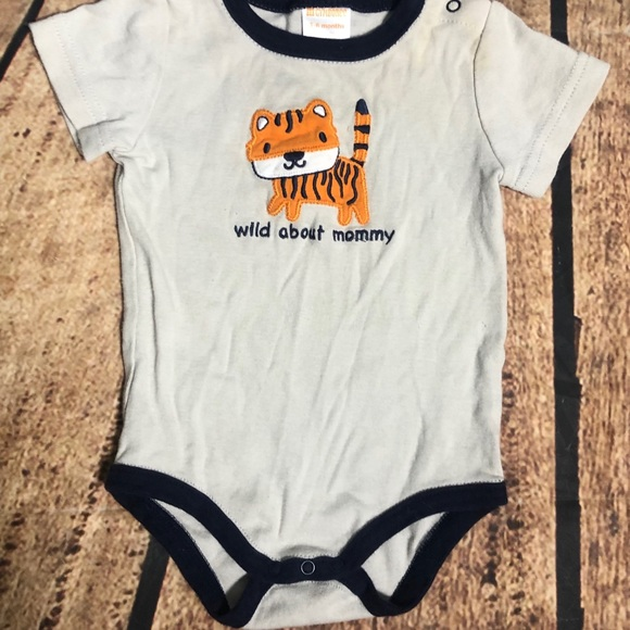 NEXT Tiger Sleepsuit Dress Up and Matching Hat NWT